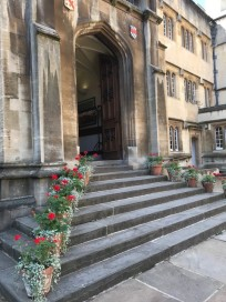 Dining Hall Steps