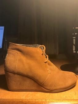Kathy's shoe circa 2018 AD