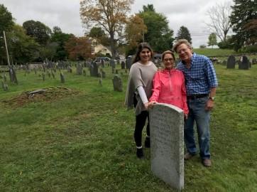 John Johnsons headstone