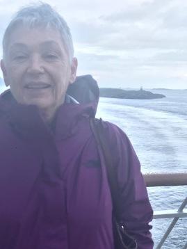 Nancy at the Arctic Circle